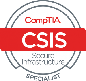 CompTIA Secure Infrastructure Specialist (A+ / Network+ / Security+)